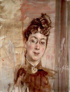 The English Teacher Mrs. Grafton   Giovanni Boldini   Oil Painting