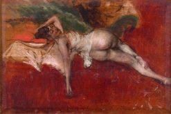 Female Nude   Giovanni Boldini   Oil Painting