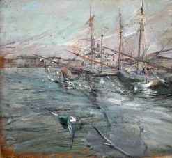 Boats in Venice | Giovanni Boldini | Oil Painting