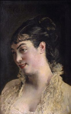 A Beautiful Woman | Giovanni Boldini | Oil Painting