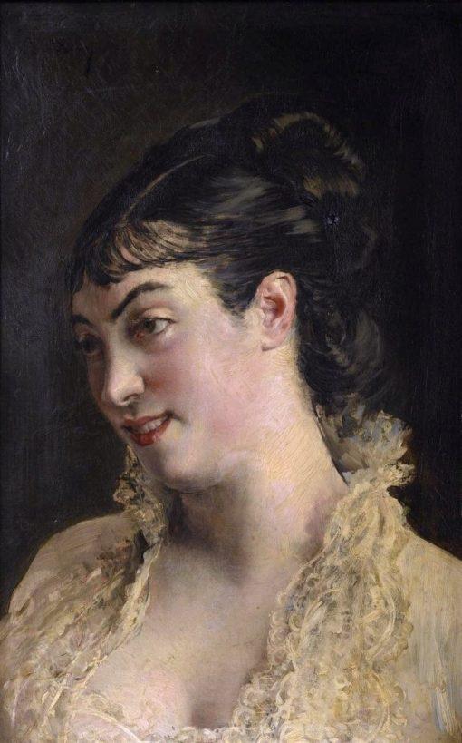 A Beautiful Woman | Giovanni Boldini | Oil Painting