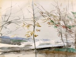 Autumn Landscape with Trees | Giovanni Boldini | Oil Painting