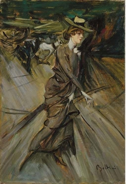 Woman Walking | Giovanni Boldini | Oil Painting