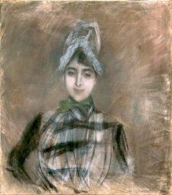 La signorina Concha de Ossa | Giovanni Boldini | Oil Painting