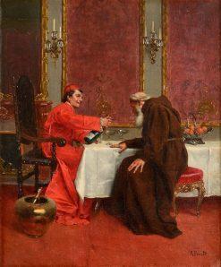 An Informal Communion | Rudolf Ernst | Oil Painting