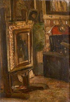 Interior of the Studio | Rudolf Ernst | Oil Painting