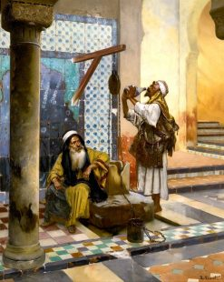 At the Well | Rudolf Ernst | Oil Painting