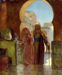 An Important Visit | Rudolf Ernst | Oil Painting