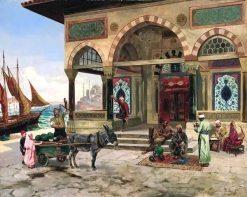 Istambul Mosque | Rudolf Ernst | Oil Painting