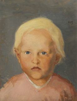 Flaxen-Haired Boy | Helene Schjerfbeck | Oil Painting