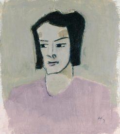 Finnish Nurse I | Helene Schjerfbeck | Oil Painting
