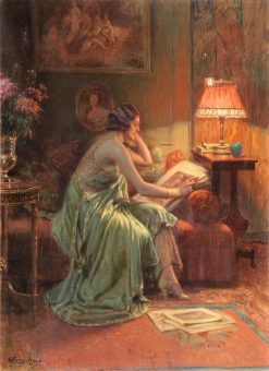 The Folio | Delphin Enjolras | Oil Painting