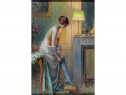 The Blue Stockings | Delphin Enjolras | Oil Painting