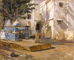 Alger Mareh | Frederick Arthur Bridgman | Oil Painting