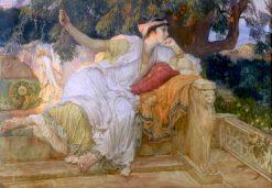 A Grecian Lady | Frederick Arthur Bridgman | Oil Painting