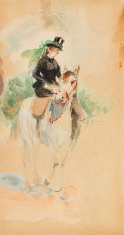 Horse Riding | Theodor Aman | Oil Painting
