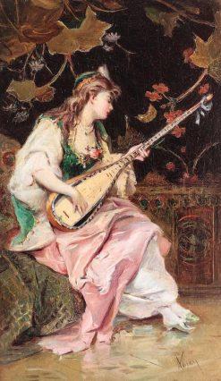 Venetian | Theodor Aman | Oil Painting