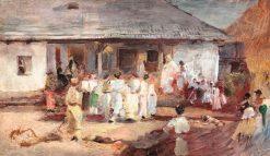 Hora de duminic? | Theodor Aman | Oil Painting