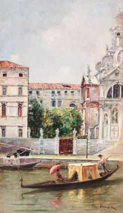 Venice | Theodor Aman | Oil Painting