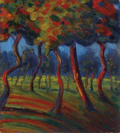 Landscape | Umberto Boccioni | Oil Painting