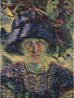 Female Portrait | Umberto Boccioni | Oil Painting