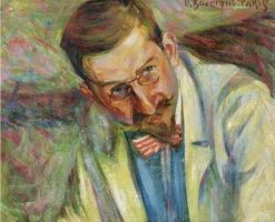 Portrait of the Lawyer Zironda | Umberto Boccioni | Oil Painting