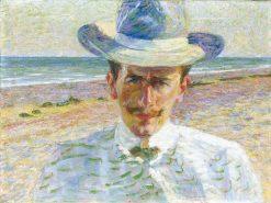 Portrait of the Lawyer C.M. | Umberto Boccioni | Oil Painting