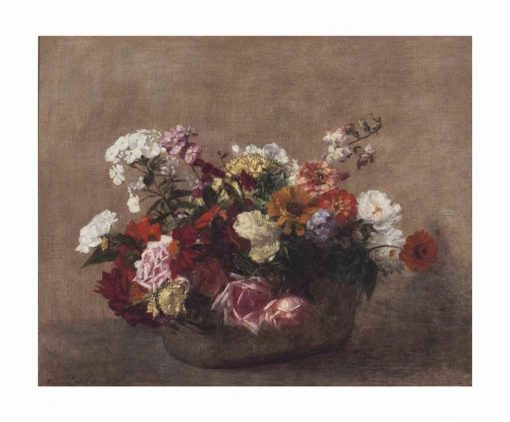 Still Life with Flowers | Victoria Fantin-Latour | Oil Painting