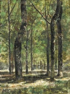 Woodland Scene | Ferdinand Heilbuth | Oil Painting