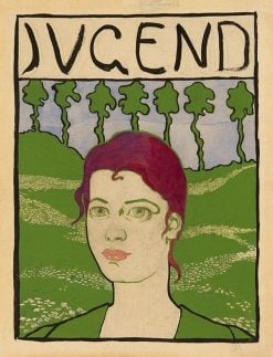 "Cover Design for the ""Jugend"" 
