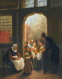 The Whitsun Bride | Jan Havicksz. Steen | Oil Painting