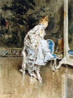 Lady in a Mirror | Giovanni Boldini | Oil Painting