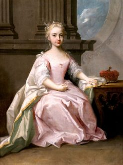 Portrait of Princess Mary | Jacopo Amigoni | Oil Painting