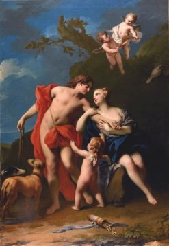 Venus and Adonis | Jacopo Amigoni | Oil Painting