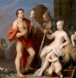 Hercules and Omphale | Jacopo Amigoni | Oil Painting