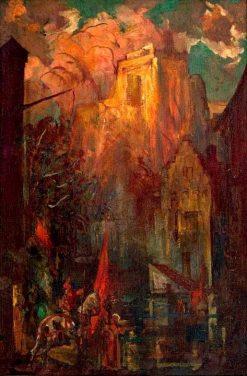 A Historical Scene | John Henry Amshewitz | Oil Painting