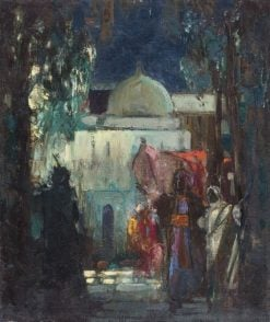 Mosque | John Henry Amshewitz | Oil Painting