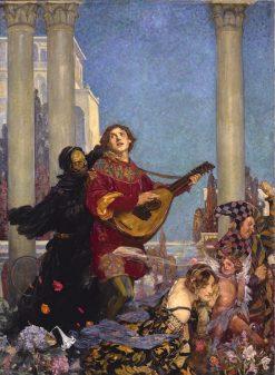 Death's Arrest | John Henry Amshewitz | Oil Painting