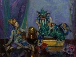 Still Life Porcelain | John Henry Amshewitz | Oil Painting