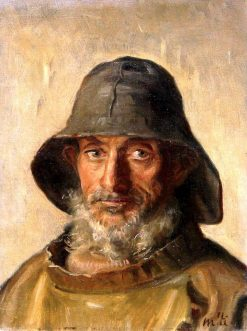 Portrait of a Fisherman | Michael Peter Ancher | Oil Painting