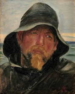 A Fisherman | Michael Peter Ancher | Oil Painting