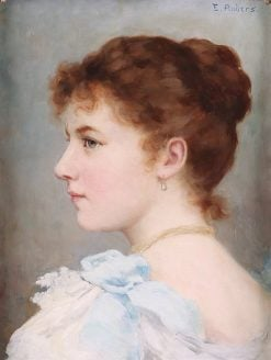 Portrait of a Young Lady | Ernest Anders | Oil Painting