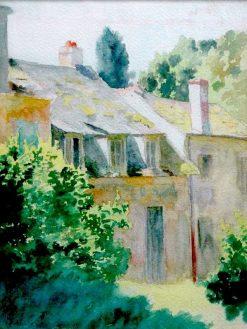 St. Cloud | Thomas P. Anshutz | Oil Painting