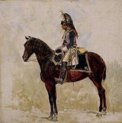 A Cuirassier | Jean-Louis Ernest Meissonier | Oil Painting