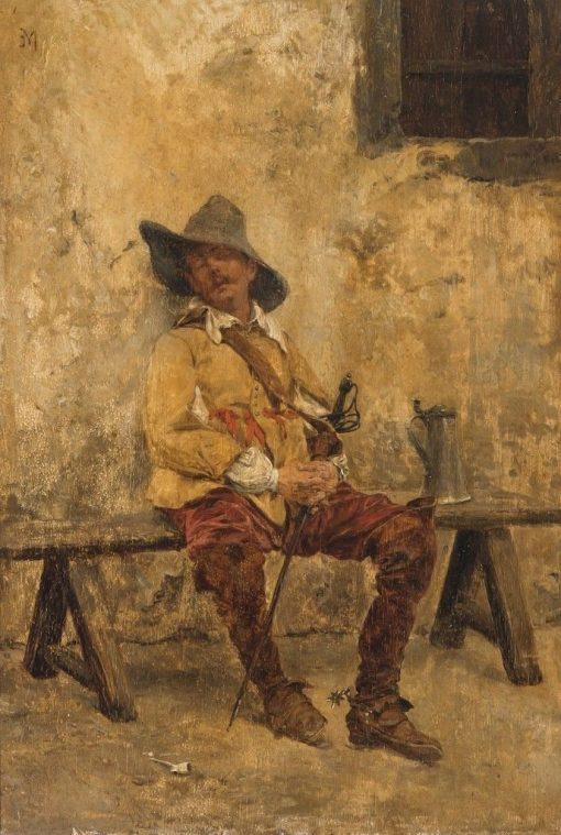 Midday Rest   Jean-Louis Ernest Meissonier   Oil Painting