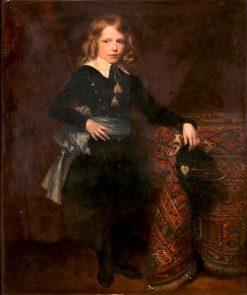 Portrait of a Boy | James Archer | Oil Painting