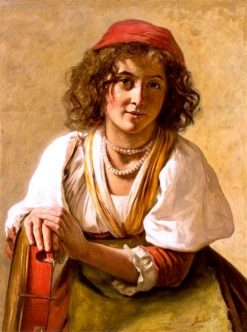 Gypsy Girl | James Archer | Oil Painting