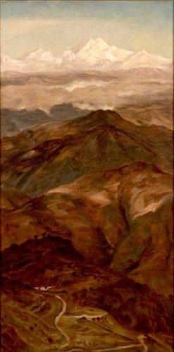 Mountain Range | James Archer | Oil Painting