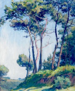 The Pines at St. Efflam | Frank Armington | Oil Painting