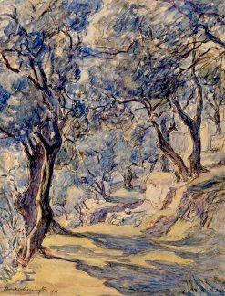 Olive Grove   Frank Armington   Oil Painting